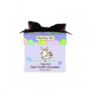 Easter Truffle Pig Chocolate Mini Box-Dark