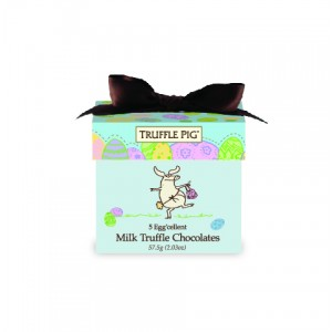 Easter Truffle Pig Chocolate Mini Box-Milk