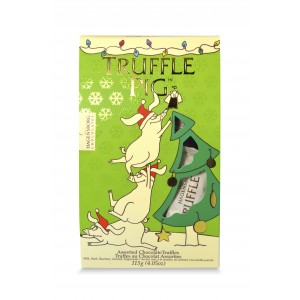 Christmas Truffle Pig Chocolate Pouch-Assorted