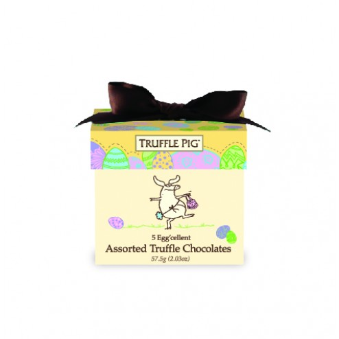 Easter Truffle Pig Chocolate Mini Box-Assorted