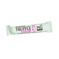 Truffle Pig Chocolate Bar - Dark Salted Almond