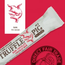 Truffle Pig 70% Cacao Dark Chocolate Bar